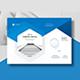 Company Profile Landscape A4 - GraphicRiver Item for Sale