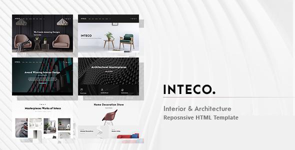 Inteco - Interior & Architecture HTML Template