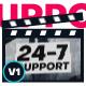 Black White Youtube Intro - For Event Promo / Sport Opener / Showreel / Portfolio Slideshow - VideoHive Item for Sale