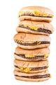 Piled burgers - PhotoDune Item for Sale