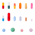 Pills collection - PhotoDune Item for Sale