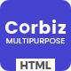 Corbiz - Multipurpose Business Consulting HTML Template - ThemeForest Item for Sale