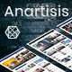 Anartisis - News & Magazine Blogger Theme - ThemeForest Item for Sale