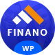 Finano - Finance WordPress - ThemeForest Item for Sale