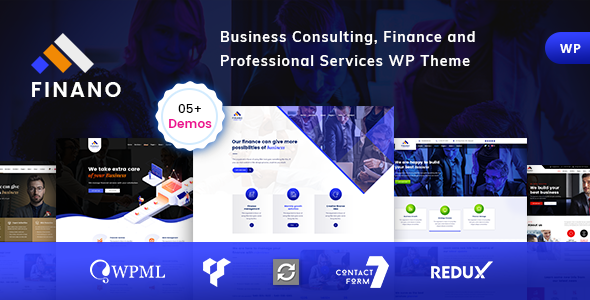 Finano - Consulting Finance WordPress