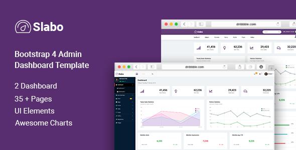 Slabo - Bootstrap Admin Dashboard Template