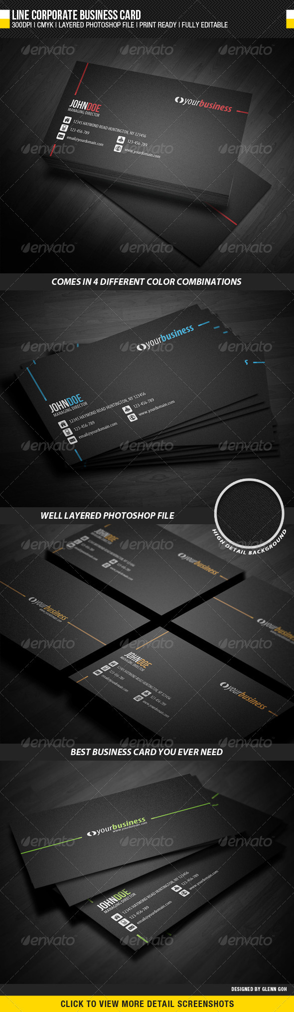 Business Card Graphics Designs Templates From Graphicriver