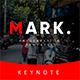 Mark Multipurpose Keynote Template - GraphicRiver Item for Sale