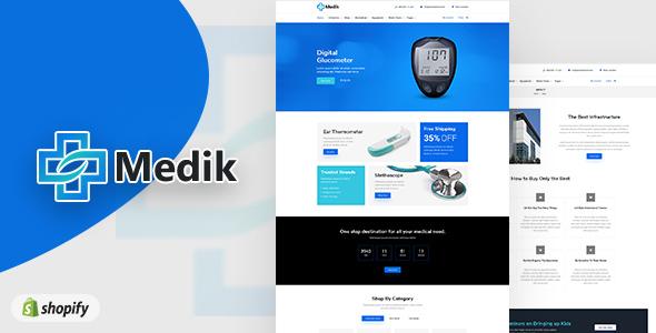 Medik | Medical Shopify Theme