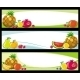Fruit Banners - GraphicRiver Item for Sale