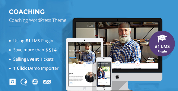 Colead | Coach WordPress Theme