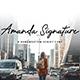 Amanda Signature - GraphicRiver Item for Sale