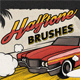 Vintage Comic Book Halftone Brushes - GraphicRiver Item for Sale