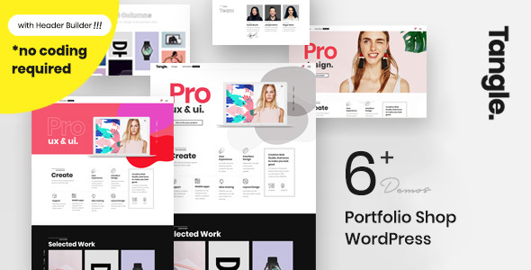 Tangle - Portfolio WordPress Agency