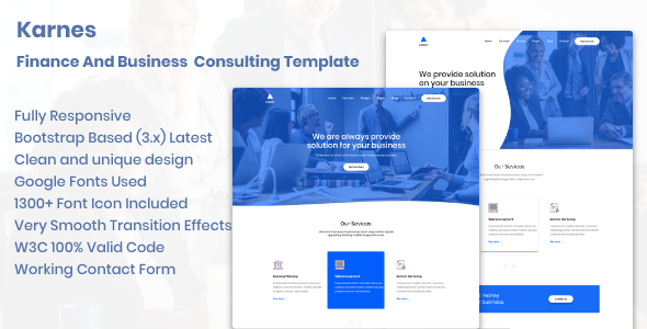 Karnes – Finance And Business Consulting Template