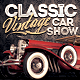 Car Show Flyer - Classic & Vintage - Horizontal - GraphicRiver Item for Sale