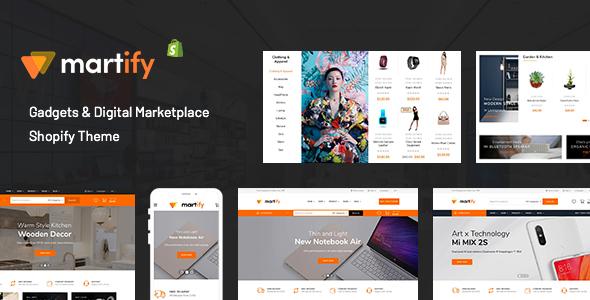 Martify - Gadgets & Digital Marketplace Shopify Theme