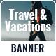 Travel & Tours Banner Set - GraphicRiver Item for Sale