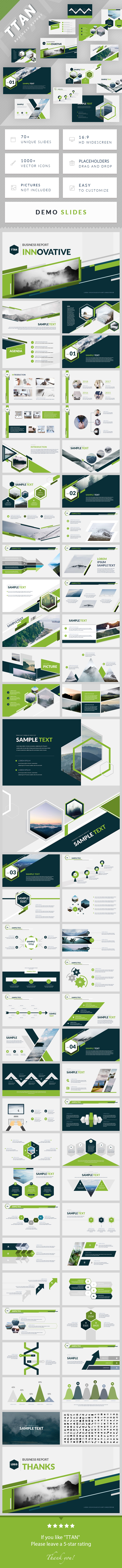 TTAN - PowerPoint Presentation Template