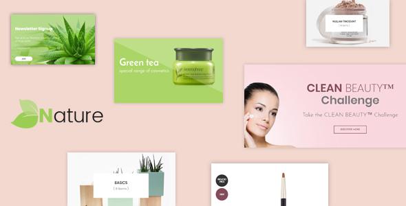 Bos Nature - Skin Care and Beauty Spa Prestashop Theme