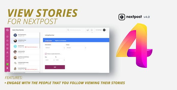 NextPost Module: Auto View Stories