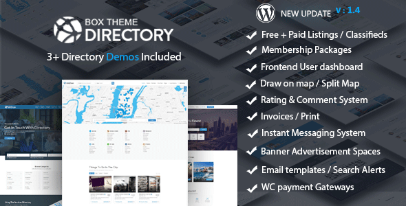 Directory | Multi-purpose WordPress Theme