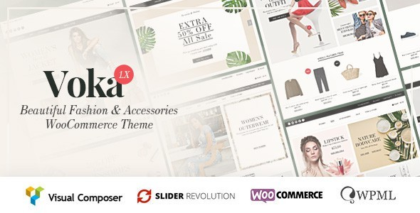 Voka - Fashion & Accessories WooCommerce Theme