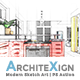 Architexign - Modern Sketch Art   PS Action - GraphicRiver Item for Sale