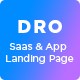 Dro - Saas HTML Template - ThemeForest Item for Sale