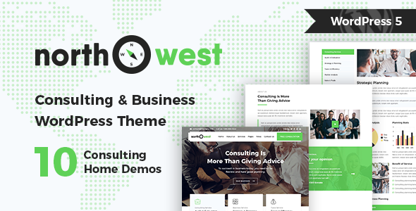 Northwest - Consulting WordPress Theme