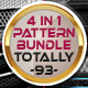 4 in 1 Pattern Bundle - Totally 93 Patterns - GraphicRiver Item for Sale