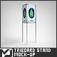 Triboard 3 Sided Stand / Board Mock-Up - GraphicRiver Item for Sale