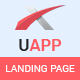 UAPP - App Landing Page PSD Template - ThemeForest Item for Sale