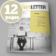 Indesign Newsletter Template - GraphicRiver Item for Sale