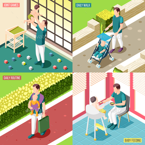 Fathers on Maternity Leave 2x2 Design Concept