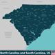North Carolina and South Carolina United States - GraphicRiver Item for Sale