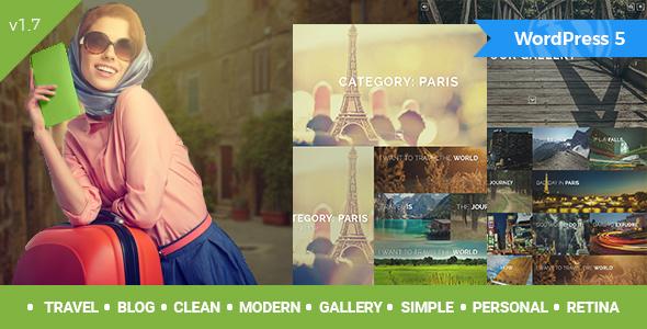 Travelogue - Travel Blog WordPress Theme