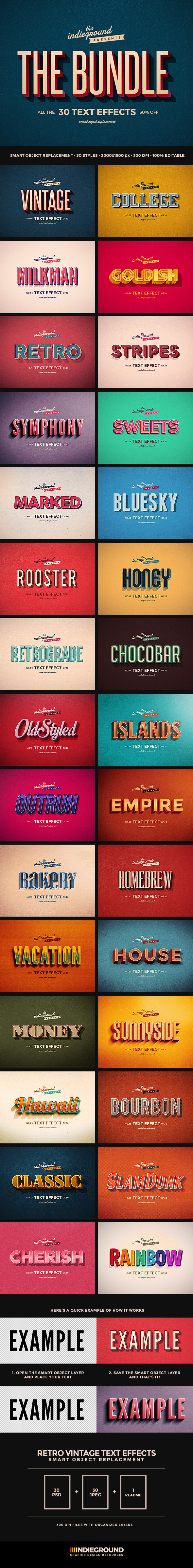 Text graphics designs templates from graphicriver