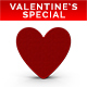 Valentine's Special Hearts PNG Set 3D Rendered with Shadows - GraphicRiver Item for Sale