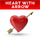 Heart with Arrow PNG Set - GraphicRiver Item for Sale