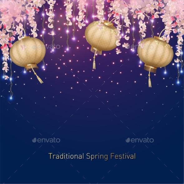 Spring Festival Background