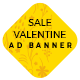 Valentine Day Sale Ad Banners - CodeCanyon Item for Sale