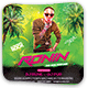 Ronin Night Party Flyer - GraphicRiver Item for Sale