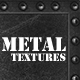 5 Metal Textures - 3DOcean Item for Sale