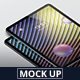 Pad Pro Tablet Screen Mockup - GraphicRiver Item for Sale