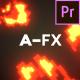 AFX Pack 9: Pixel Fire - Premier Pro Version - VideoHive Item for Sale