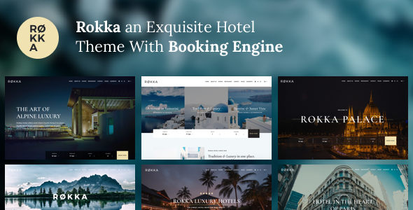 Rokka Hotel With Booking System