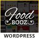 FoodBooz Minimal WordPress Restaurant & Cafe Theme