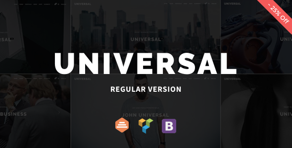 Universal – Corporate WordPress Multi-Concept Theme