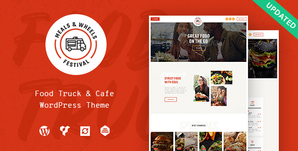 Meals & Wheels | Street Festival & Fast Food Delivery WordPress Theme